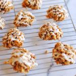 No Bake Apple Peanut Butter Cookies